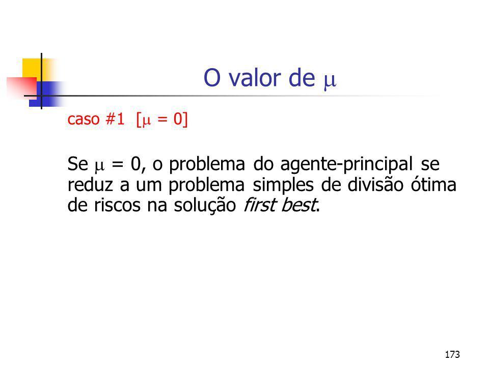 O valor de  caso #1 [ = 0]